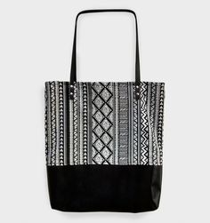 Bolsa Étnica  #tote #bag #handmade | La Zorayde
