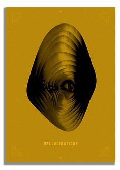 Hallucinations by dimitra papastathi, via Behance