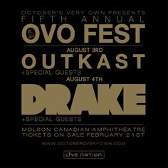 OCTOBERS VERY OWN: 5th Annual OVOFEST