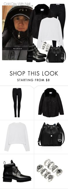 """""""Cold Day With Niall"""" by onedirectiondress ❤ liked on Polyvore featuring ONLY, Acne Studios, MICHAEL Michael Kors, Balenciaga and Forever 21"""