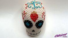 free crochet patterns calavera   CultGrrrl Creations
