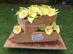 Flower Garden Cake by Caramel Doha