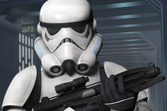 A closer look at an Imperial Stormtrooper from Star Wars Rebels