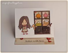 An absolutely amazing card from the talented Yolanda Garrido!