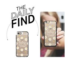 Daily Find: Casetify Daisy iPhone Case by polyvore-editorial on Polyvore featuring Casetify and DailyFind