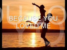 ▶ Because you loved me Celine Dion (with lyrics) - YouTube