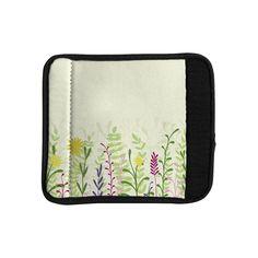 Kess InHouse Emma Frances 'Springtime' Luggage Handle Wrap