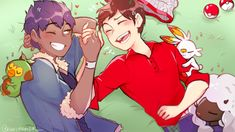 Pokemon Ships, Cute Pokemon, Pokemon Go Comics, Gay, Red Green, Sword, My Arts, Fan Art, Artist