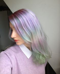 I THINK THIS IS MY FAVOURITE HAIR COLOUR COMBO I HAVE EVER POSTED. Love love love