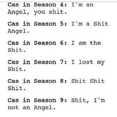 Hahaha poor Cas this is a bit extreme but I did get a good chuckle out of it.