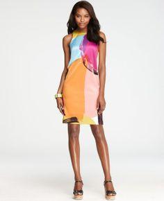 Kaleidoscope Shift Dress