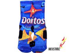Doritos Custom Nike Elite Socks ALL SIZES by HQcustomz on Etsy, $29.94