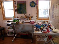 Studio Corner Desk, Studio, Furniture, Home Decor, Homemade Home Decor, Corner Table, Home Furnishings, Decoration Home, Study