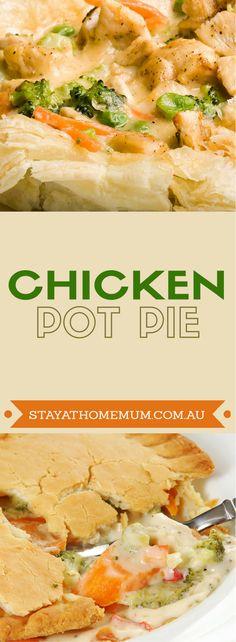 Chicken Pot Pie | Stay At Home Mum