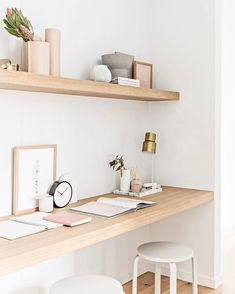 home office decor Office Nook, Home Office Space, Home Office Decor, Home Decor, Desk Nook, Hallway Office, Small Space Office, Office Inspo, Office Ideas
