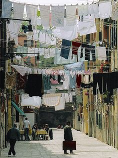 Clothesline City II by gsgeorge, via Flickr