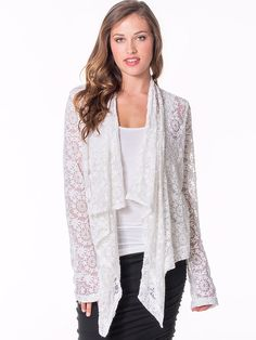 Perfect for Mom: Easy Wrap Cardigan