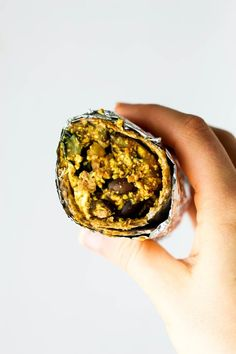 Save time in the morning by grabbing a prepped Vegan Breakfast Burrito from the freezer! It's full of protein to keep you satisfied during busy mornings. Frozen Breakfast, Best Breakfast, Breakfast Ideas, Healthy Mexican Recipes, Vegan Recipes, Vegan Food, Freezer Breakfast Burritos, Desayuno Paleo, Vegetarian Breakfast