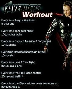 disney movie workouts work outs ~ movie workouts disney Disney Movie Workouts, Tv Show Workouts, Disney Workout, Fun Workouts, At Home Workouts, Netflix Workout, Tv Workout Games, Funny Marvel Memes, Dc Memes