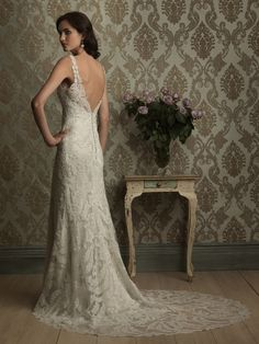 Vintage Inspired Wedding Gowns images