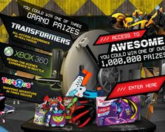 Lunchables 'Access to Awesome' Instant Win Game (Over 1 Million Prizes!) - I Crave Freebies Instant Win Games, Win Prizes, Xbox One, Cravings, Awesome, Jenga, Gift Cards, Giveaways, Nerf