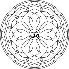 Mandala Kuan Yin Mandala para pintar inspirado en la Diosa ...