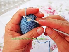 Crocheted Easter Egg Tutorial
