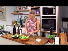 Classic Vinaigrette video - Everyday Gourmet with Justine Schofield