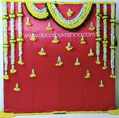 home decor quotes Desi Wedding Decor, Wedding Stage Decorations, Backdrop Decorations, Flower Decorations, Wedding Mandap, Diwali Decorations, Backdrops, Simple Stage Decorations, Engagement Stage Decoration