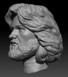 KURT RUSSELL (MACCREADY) from JOHN CARPERNTER'S THE THING custom sculpt for WARRIORS GATE PRODUCTIONS.