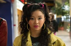 Lana Condor as Jubilee in X-Men: Apocalypse