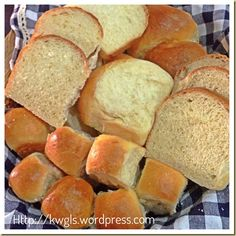 Creams and Milk Make These Buns Worth To Try –Hokkaido Soft Milk Buns Bread Maker Recipes, Baking Recipes, Real Food Recipes, Milk Bun, Japanese Bread, Good Food, Yummy Food, Delicious Recipes, Bread Bun