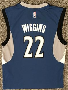 a4d7c223e Andrew Wiggins Minnesota Timberwolves Adidas NBA Basketball Jersey Size  Medium