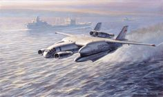 The Bartini Beriev or to give it its full name, the Bartini Beriev Vertikal`no-Vzletayuschaya Amphibia (vertical take-off amphibious aircraft), was an unusual Russian aircraft developed during the The Bartini Beriev was devel Amphibious Aircraft, Ground Effects, Experimental Aircraft, Flying Boat, Concept Ships, Aircraft Design, Sea Monsters, Military Equipment, Aviation Art