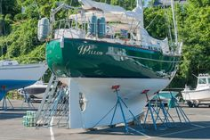 2001 Westsail Center Cockpit Cutter Sail Boat For Sale - www.yachtworld.com
