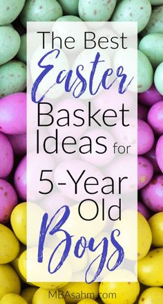 These are definitely the best Easter basket ideas for old boys that you can find anywhere. Preschoolers and kindergarteners are so much fun, so enjoy the holiday with them! Activities For 5 Year Olds, Holiday Activities For Kids, Easter Activities, Boys Easter Basket, Easter Gift Baskets, Easter Gifts For Kids, Easter Crafts, Easter Party, Easter 2018