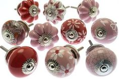 Classic & Vintage Ceramic Knobs – Ideal for Doors, Drawers, Wardrobes Ceramic Door Knobs, Cupboard Knobs, Vintage Ceramic, Wardrobes, Drawers, Candle Holders, Candles, Ceramics, Doors