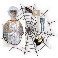 Spiderwomen Maternity Costumes #thefashionfunda #fashion #style #halloweencostumes #maternityhalloweencostumes