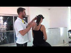 Corte de cabelo reto - Long Bob /passo a passo cabelo reto - YouTube