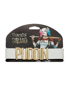 Harley Quinn Puddin Choker - Suicide Squad - Spirithalloween.com