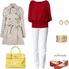 Office Attire - Polyvore - Love the shirt & shoes ; )