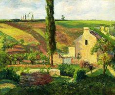 Camille Pissarro (1830-1903): La Côte des Mathurins à l'Hermitage, Pontoise, 1876