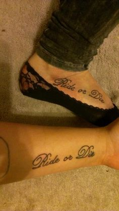 1000 images about tattoos on pinterest crown tattoos for Ride or die tattoo