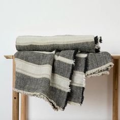 The Enzo Mira Linen Throw is a beautiful heavyweight linen throw finished with a fringe trim. With a gorgeous heavy drape and thick texture, this is a perfect addition to your bed or sofa. Natural Linen, Home Textile, Duvet Covers, Cushions, Sofa, Pure Products, Texture, Bedroom, Inspiration