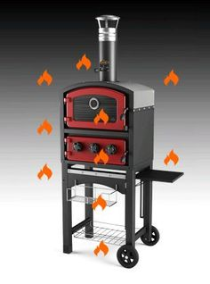 Fornetto Wood Fired Pizza Oven & Smoker