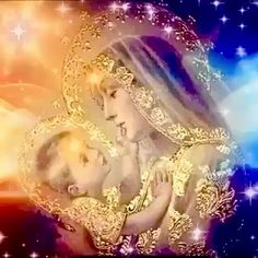 Jesus And Mary Pictures, Mother Mary Images, Images Of Mary, Pictures Of Jesus Christ, Angel Pictures, Mary Jesus Mother, Blessed Mother Mary, Mary And Jesus, Divine Mother