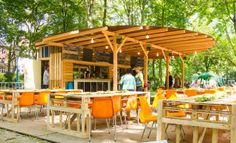Pallet Bar from Happy Tree House ! Winner of our contest !    #Bar, #Pallets