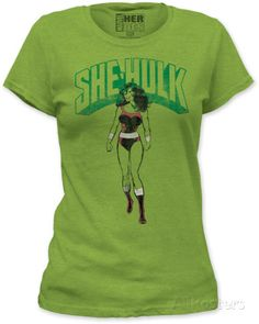 Juniors: The Incredible Hulk - She-Hulk Camiseta entallada