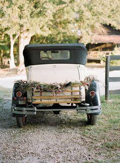 inspiration | vintage car getaway