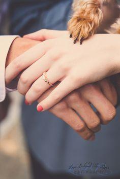 It takes three to make a marriage work. Morris Avenue Birmingham AL yorkie engagement